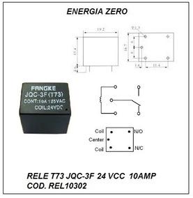 Rele 24vcc 1cnt Rev 10a Pac 2pçs Cod. Rel10302