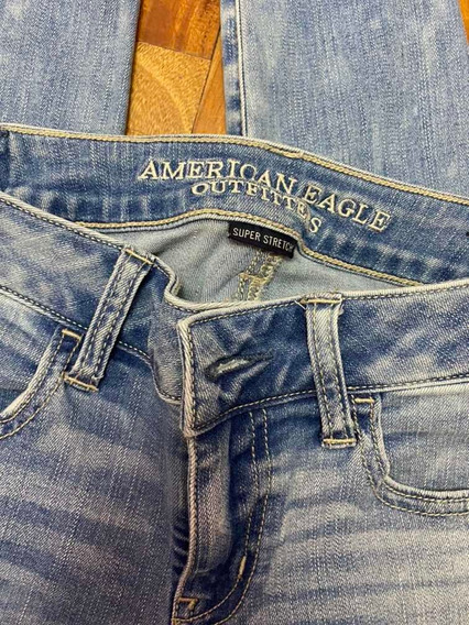 Jean American Eagle Sin Uso Talle 4 Hi-rise Jegging