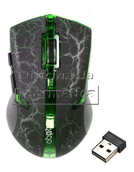 Mouse Gamer Tipo Razer 2.4ghz Usb 2.0 3200bpi