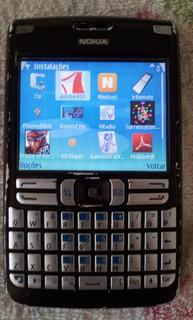 Celular Nokia E62 Preto