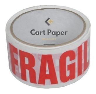 Cinta Fragil 48x40 / Detalle Y Por Caja / Cajas Cart Paper