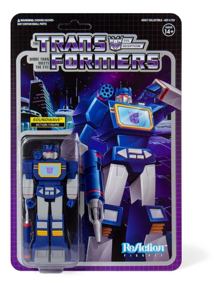 Super 7 Reaction Transformers Soundwave