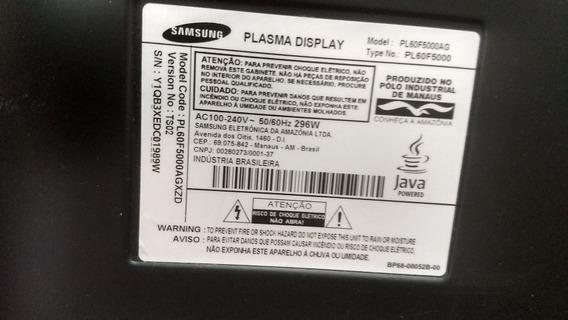 Tv Samsung 60 Para Retirada De Pecas.