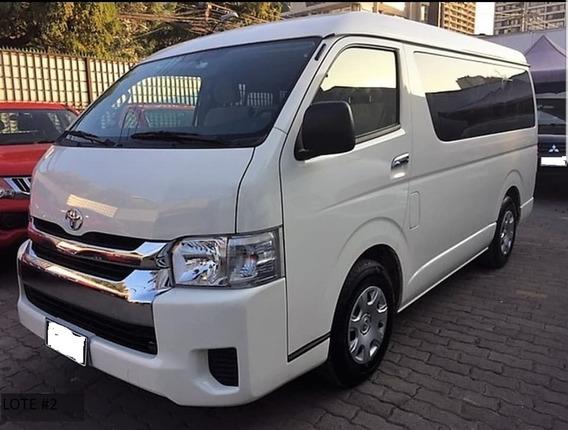 Toyota Hiace Pasajeros Toldo Alto 2015