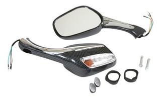 Espejo Con Luz Direccional Para Motoneta
