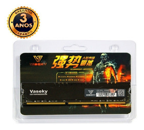 Kit Com 2 Memórias Vaseky 4gb Ddr3 1600 Mhz Pc3 12800