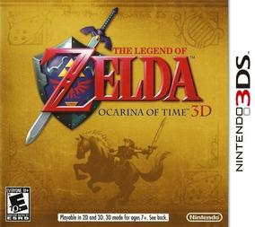 The Legend Of Zelda: Ocarina Of Time 3d ( Com Luva!)