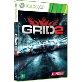 Jogo Grid 2 Xbox 360 Original Midia Fisica Seminovo + Brinde
