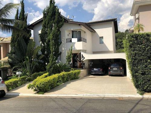 Casa Com 4 Dormitórios Sendo 1 Suíte À Venda, 370 M² No Alphaville Residencial Conde Ii - Barueri/sp - Ca0809