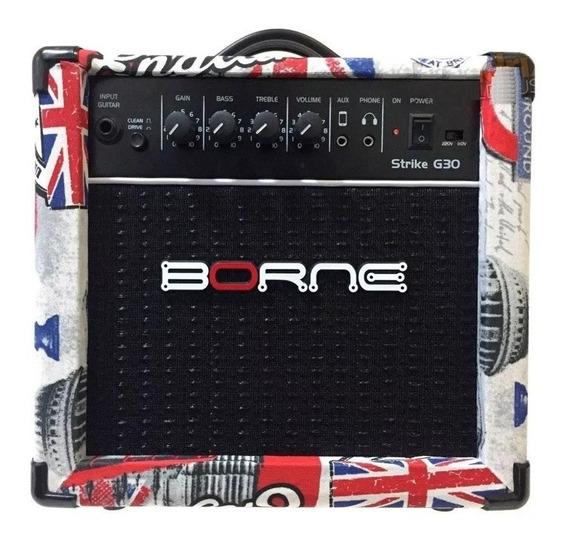 Amplificador Para Guitarra Borne G30 15w Rms London