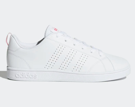 adidas Advantadge Blanco/rosa Originales Dama Bb9976