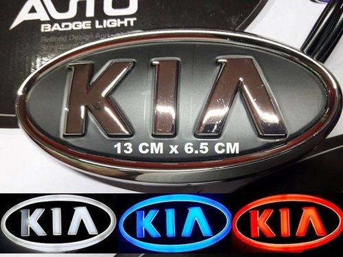 Imagen 1 de 6 de Emblema Kia Led 4d Kia Rio,sportage,sorento,picanto,cerato.