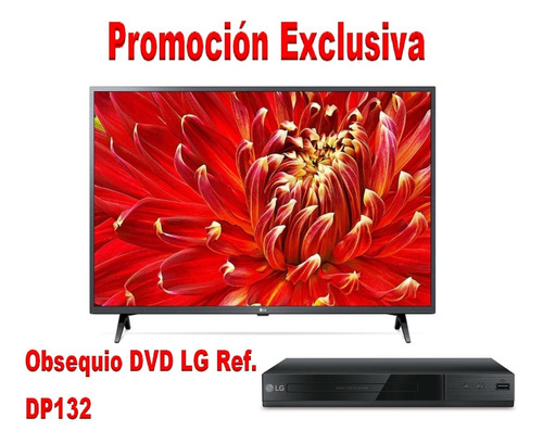 Imagen 1 de 7 de Televisor Smart  43  LG 43lm6370pdb/led Fhd/active Hdr