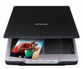 Scanner Epson Perfection V19 Photo Original Com Nota Fiscal