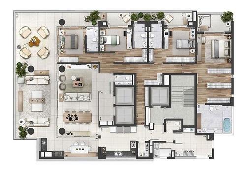 Apartamento Com 3 Dormitórios À Venda, 322 M² Por R$ 7.100.000 - Vila Olímpia - São Pa... - 38747