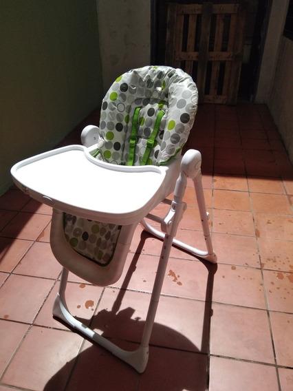 Silla De Comer Para Bebé Intipunco. Doble Bandeja Lunar 18kg