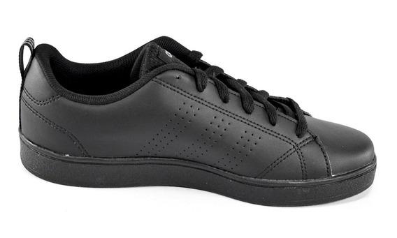 Tenis adidas Advantage Clean Negros Unisex