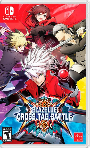 Blazblue Cross Tag Battle Nintendo Switch Fisico Nuevo Envio Gratis Jazz Pc