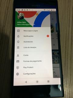 Smartphone Sony Xperia Xz Premium Preto Com 64gb, Tela 5.5