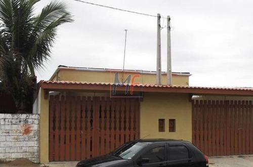 Imagem 1 de 26 de Ref: 12.038 Ótima Casa Térrea Com 150 M² De Terreno E 86 M² De A.c.,  3 Dorms. ( Sendo 2 Suítes), 2 Vagas, No Bairro O Bopiranga- Itanhaém. - 12038
