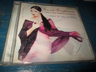 Cd Sarah Brightman & London Symphony Time To Say Goodbye Usa
