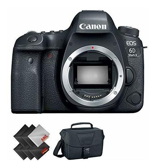 Canon Eo 6d Mark 2 Dslr Camara Body Only 1 Year