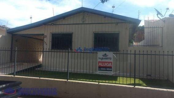 Casa Para Alugar, 110 M² Por R$ 900,00/mês - Jardim Piza - Londrina/pr - Ca0785