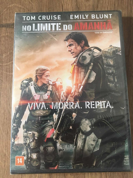 #outlet Dvd No Limite Do Amanhã - Lacrado