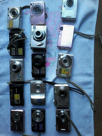Lote 20 Câmeras Fotográficas.