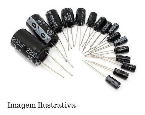 1000x Capacitor Eletrolítico Radial 220uf X 25v 105ºc 6x12mm