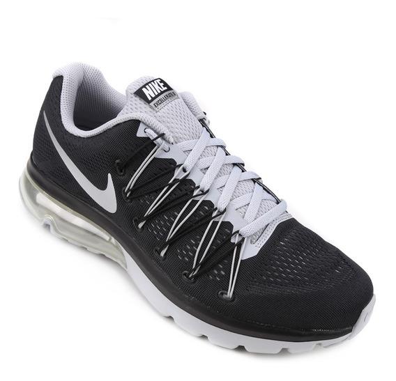 Tênis Nike Air Max Excellerate 5 Masculino - Preto E Prata