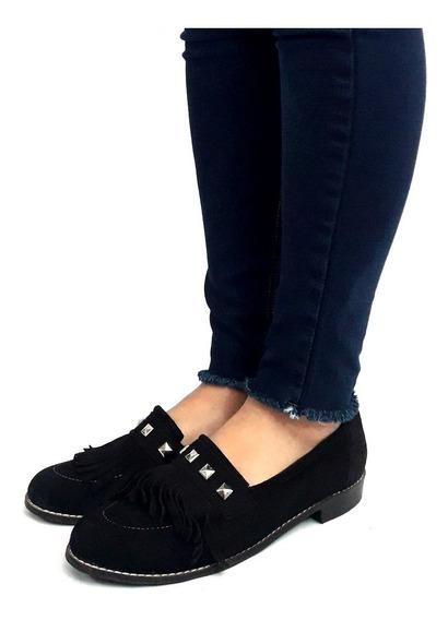 Mocasines Sam123 Mujer Cuero Oferta Talles Grandes Moflie