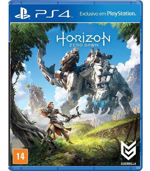 Jogo Mídia Física Horizon Zero Dawn Para Playstation 4 Ps4