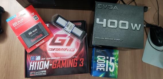 Pc Gamer: Core I5 + 8gb Ddr4 + Hd De 1tb Ou Ssd)