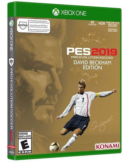Pro Evolution Soccer Pes 2019 ( Ed David Beckham ) Xbox One