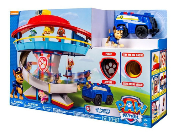 Playset Torre De Control Paw Patrol Look Out