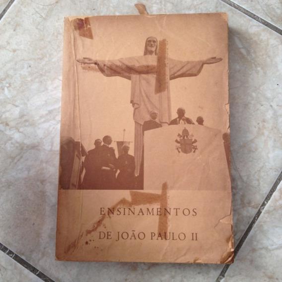 Livro Ensinamentos Do João Paulo 2º - 1980 - Padre - Raro