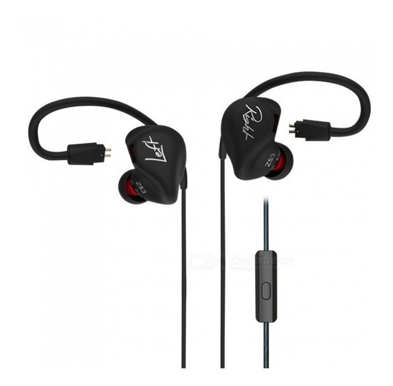 Fone Kz Zs3 Hifi In Ear Stereo Noise Cancelling