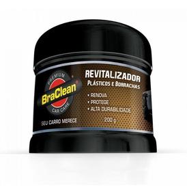 Revitalizador De Plásticos, Borrachas, Para-choques Braclean