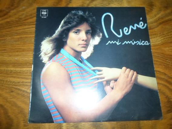 Rene - Mi Musica ( Menudo ) * Disco De Vinilo