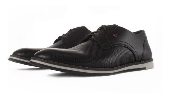 Zapato De Piel Karosso Kasual 3700 Moka