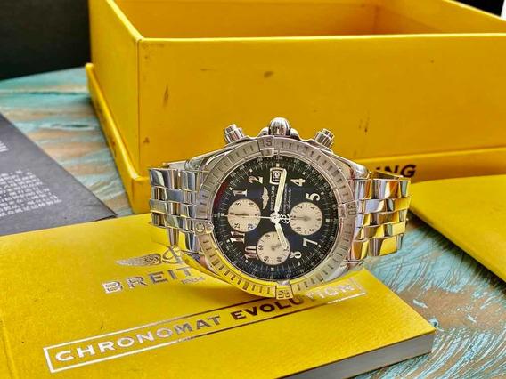 Fantástico Breilting Chronomat Evolution 44mm Cx Certf Rolex