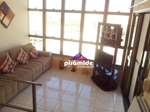 Cobertura Com 3 Dormitórios À Venda, 154 M² Por R$ 1.300.000,00 - Jardim Aquarius - São José Dos Campos/sp - Co0124