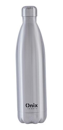 Imagem 1 de 3 de Garrafa Térmica Inox Parede Dupla - Onix Termic (1000ml)