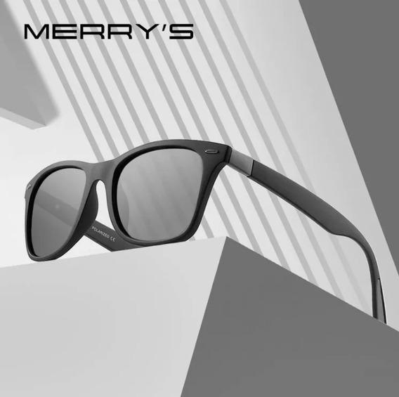 Óculos De Sol Lente Polarizada C/ Proteção Uv400 Preto