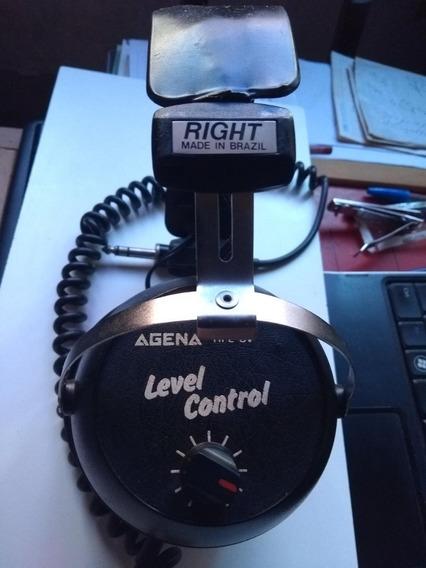 Headphone Agena Antigo Hfe-cv ( Raridade)