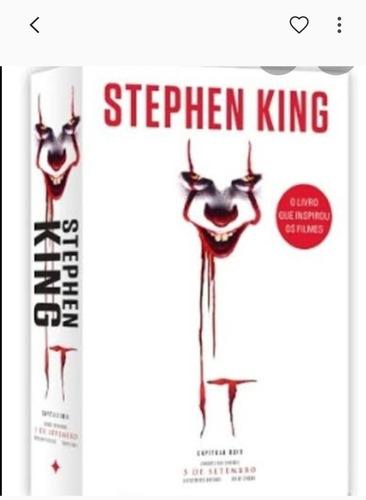 It - A Coisa Stephen King Capa Nova
