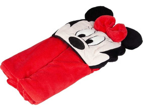 Manta Com Capuz Infantil Minnie Mouse