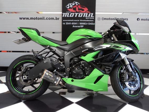 Kawasaki Zx6 R Verde 2011
