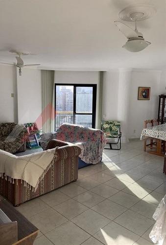 Imagem 1 de 10 de Apartamento Para Venda, 3 Dormitórios, Canto Do Forte - Praia Grande - 1516